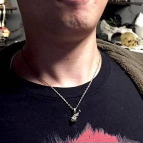 [SKURANGER-pendant]フライドチキンペンダント(チェーン付き)