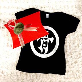 [蛇骨堂-clothes]蛇骨堂 (骨)乳児用Tシャツ