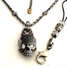 [Artemis Classic-pendant]ブラックスカルペンダント