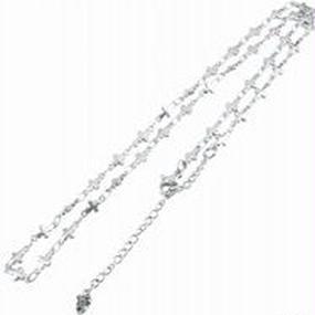 [チェーン-cn]45-50cm ステンレスクロスチェーン(4.5mm)(Artemis Classic)