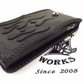 [Snake Pit Leather Works-wallet]スネーク・バイト・オーバーフラップ・ウォレット