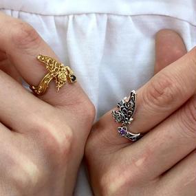 [Artemis Kings-ring]【1点物】パピヨンローズリング Gold