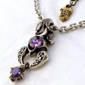[Artemis Classic-pendant]ミッドナイトスコーピオンチャーム