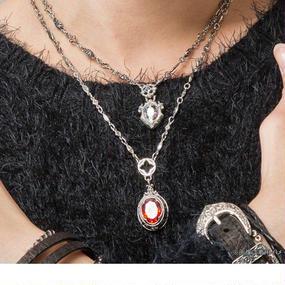 [Artemis Classic-pendant]ストーンカレッジペンダントRD