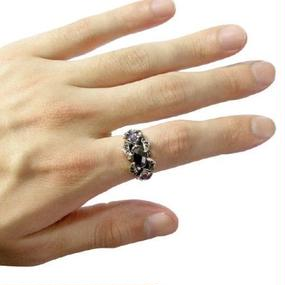 [Artemis Classic-ring]ミッドナイトスコーピオンリング2nd