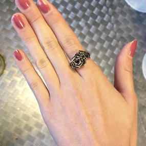 [GLAM SCALE-ring]蛇骨堂限定バラリング