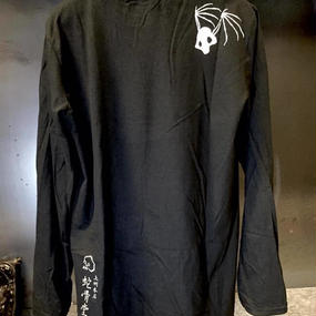 [蛇骨堂-clothes]ロングスリーブTシャツ (輪舞ドクロ)