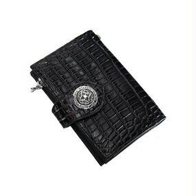 [Artemis Classic-wallet]アンティークミディアムウォレット(クロコスタイルミッドナイトパープル)