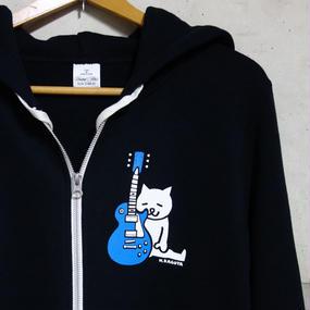 Blue Guitar -  Zip Parka