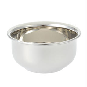 6308-12 SOAP BOWL SILVER MIDIUM