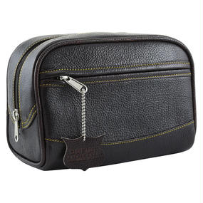 TRAVEL LEATHER CASE LARGE