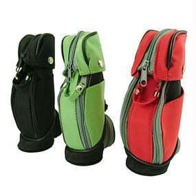 ゴルフバック型のグルーミングキット SCHICK QUATRO4カミソリ