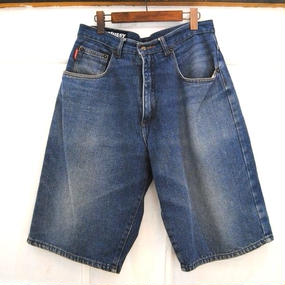 90s USA ''OLD STUSSY'' Denim Half Pants