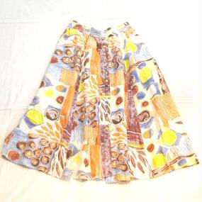 Silk Flare Skirt
