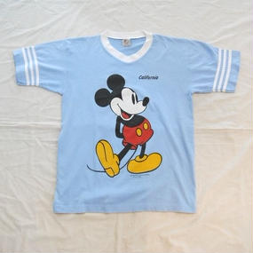 USA製 80's SHERRY'S BEST Mickey Mouse Tee