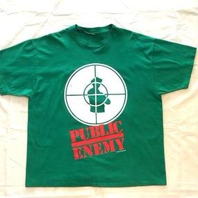 """95's """"PUBLIC ENEMY"""" T-shirts"""