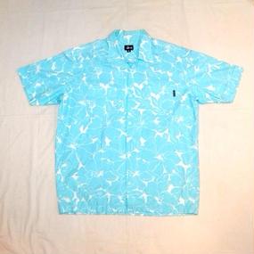90s 【OLD STUSSY】 USA製 Hawaiian Shirt