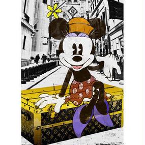 A1 ポスターフレームセット  【 Minnie NYC #hi02 】