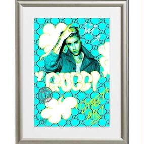 A4 ポスターフレームセット 【Street Art Justin Bieber #td08】