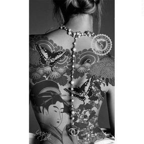 A1 ポスターフレームセット【 CHANEL × TATTOO #ka08 】
