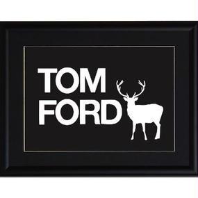 A4 ポスターフレームセット 【TOM FORD #yg19】