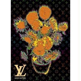 キャンバス530×410×D20mm【Van Gogh Sunflowers #sh11】