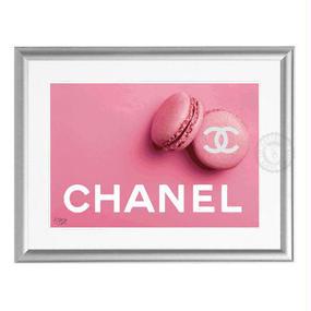 A4 ポスターフレームセット  【 Pink Macaron #yg14 】