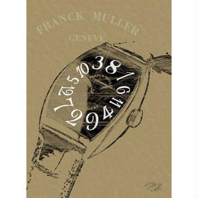 A1 ポスターフレームセット 【 FRANK MULLER フランクミュラー ポップアート #sh36 】