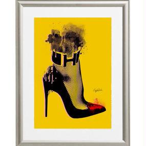 A4 ポスターフレームセット 【 High heel 】