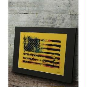 A1 高級マットパネル【USA Flag】