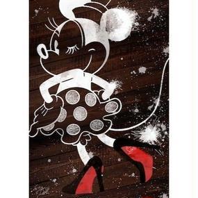 キャンバス410×273×D20mm 【 Minnie Louboutin #hi01 】