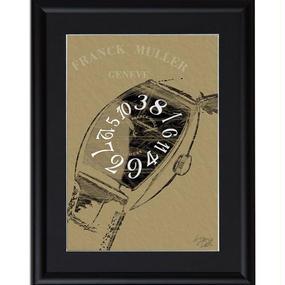 A4 ポスターフレームセット【 FRANK MULLER フランクミュラー ポップアート #sh36 】