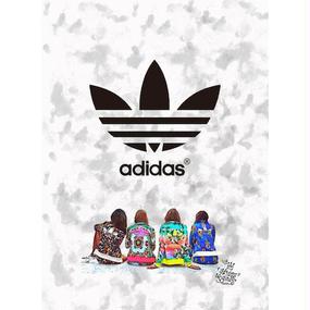 A1 ポスターフレームセット 【 adidas lab #td34 】