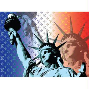A1 ポスターフレームセット  【 Statue of Liberty #er21 】