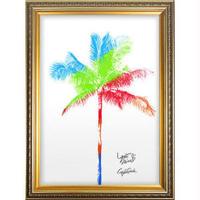 A2 高級フレームセット 『 リゲル 』【 One palm tree 】