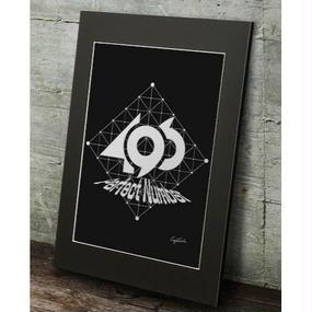 A2 高級マットパネル【 perfect number B 】