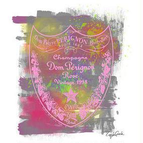 A1 ポスターフレームセット 【 DOM PERIGNON ROSE 】