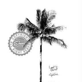 A1 ポスターフレームセット 【 One palm tree 】