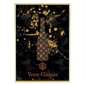 A1 ポスターフレームセット【 Veuve Clicquot #td31 】