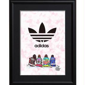 A4 ポスターフレームセット  【 adidas lab #td34 】