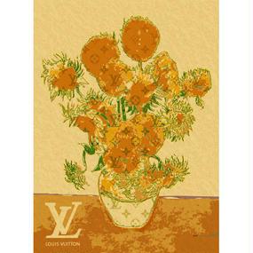 A1 ポスターフレームセット  【Van Gogh Sunflowers #sh10】