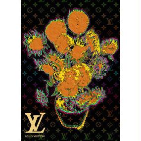 A1 ポスターフレームセット 【Van Gogh Sunflowers #sh11 】
