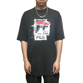 【USED】90'S FILA LOGO GRAPHIC T-SHIRT
