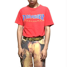 【USED】90'S THRASHER MAGAZINE T-SHIRT