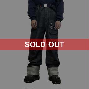 【USED】CYBERDOG LONDON BAGGY DENIM PANTS