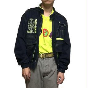 【USED】80'S PARIS-DAKAR BOMBER BLOUSON MADE BY MIZUNO