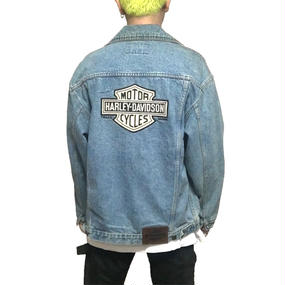【USED】90'S HARLEY DAVIDSON DENIM JACKET