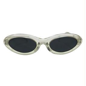 【DEADSTOCK】80'S CYBER-PUNK CLEAR GLASSES