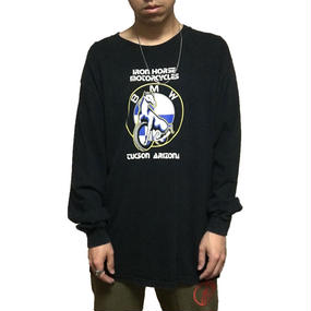 【USED】90'S BMW L/S T-SHIRT