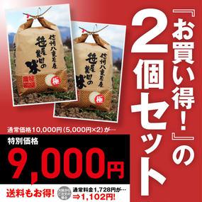 信州八重原米コシヒカリ・極 生産者限定米 笹屋農園の米 特別栽培米(5kg)2個セット(栽培期間中、農薬・化学肥料を一切使用せず栽培しました)